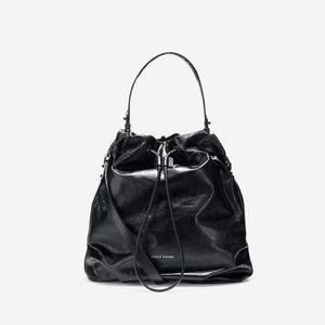 Cole Hans Stagedoor Studio Tote Shoulder Bag $380